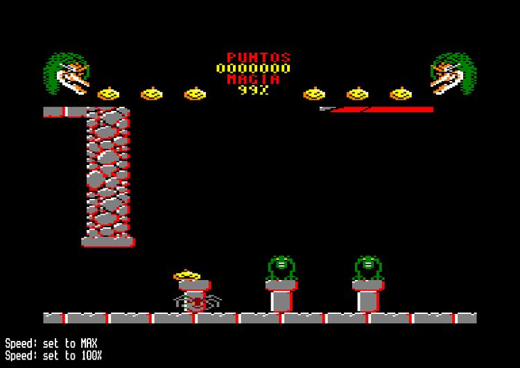 Cauldron II: The Pumpkin Strikes Back ROMs Amstrad CPC Amstrad CPC Games DSK Planet Emulation