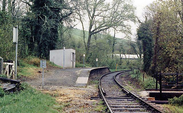Causeland railway station
