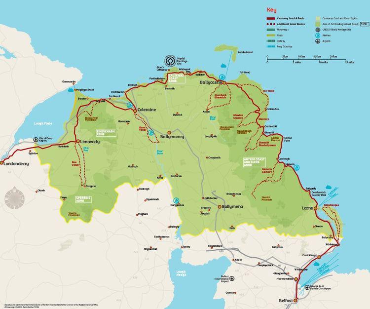 Causeway Coast and Glens Causeway Coast amp Glens Heritage Trust CEDaR Online Recording