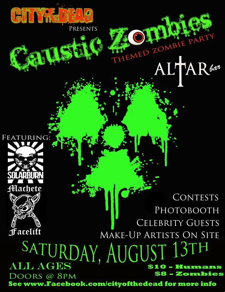 Caustic Zombies CAUSTIC ZOMBIES Altar Bar 8132011