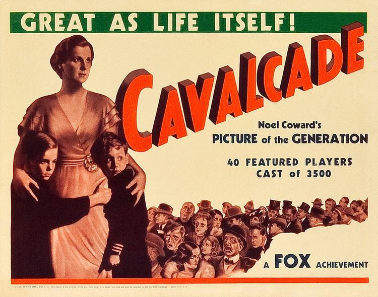 Cavalcade (1933 film) Cavalcade 1933