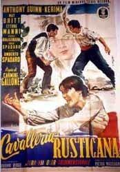 Cavalleria rusticana (1953 film) movie poster