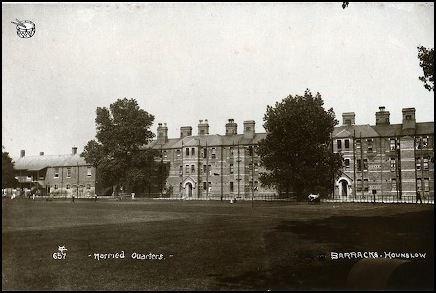 Cavalry Barracks, Hounslow Accom Album The UK The Army Children Archive TACA