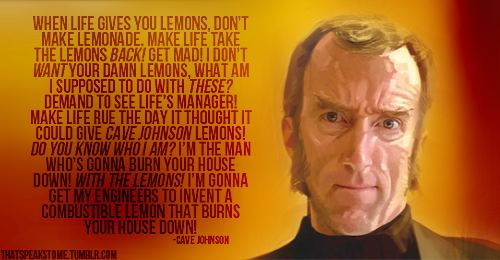 Cave Johnson All Cave Johnson Quotes QuotesGram