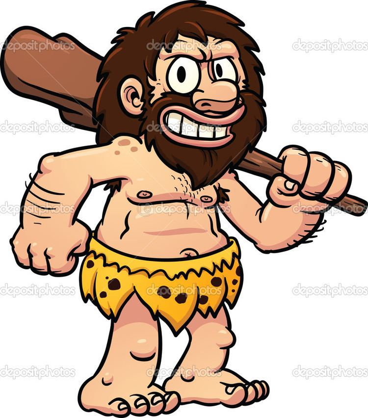 Caveman Caveman Cartoon Clipart Clipart Kid