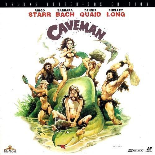 Caveman (film) Laser Disc Ringo Starr Caveman Film