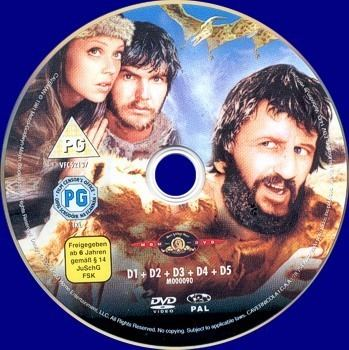 Caveman (film) DVD George Harrison Ringo Starr Caveman Film DVD