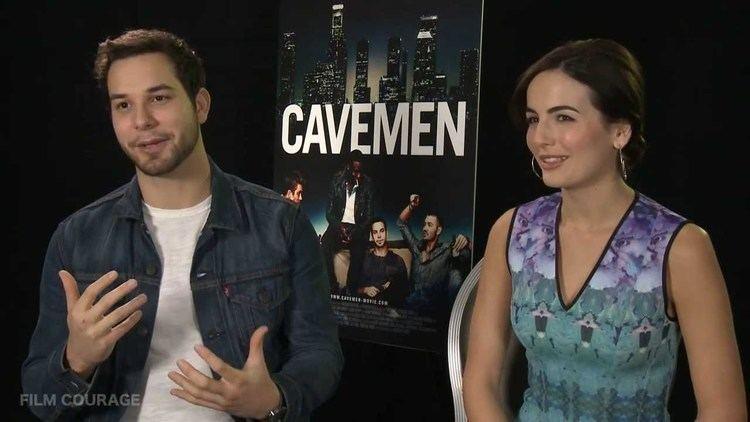 Cavemen (film) CAVEMEN Movie Full interview with Camilla Belle and Skylar Astin