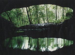 Caverna Aroe Jari A Caverna quotAroe Jariquot e a Lagoa Azul em Chapada dos Guimares