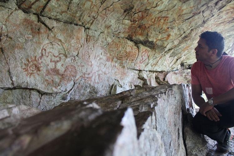Resultado de imagem para Caverna da pedra pintada em monte alegre