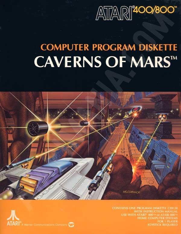 Caverns of Mars wwwatarimaniacom8bitboxeshirescavernofmar