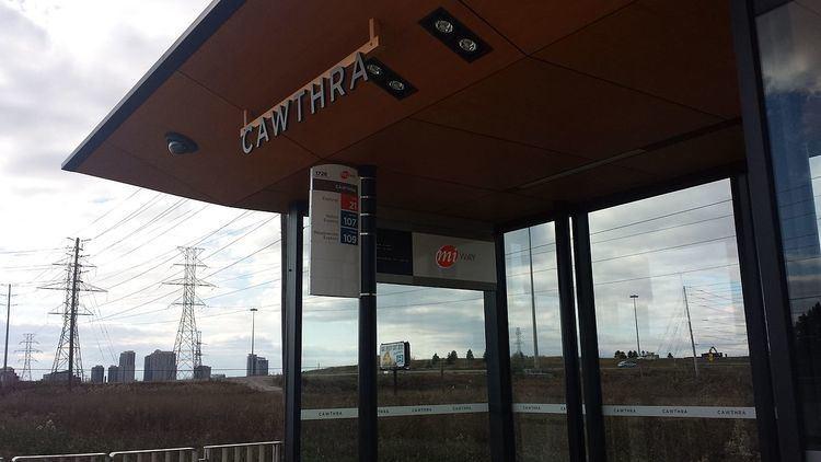 Cawthra station
