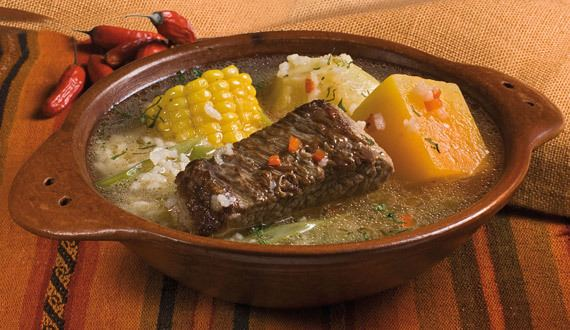 Cazuela Cazuela is a typical dish of Chile made with a barrage of meat