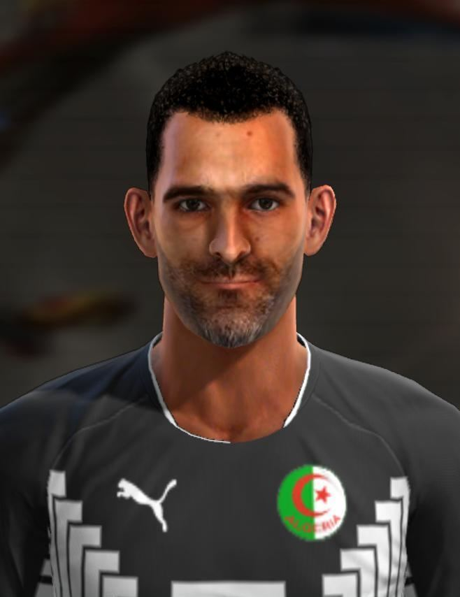 Cédric Si Mohamed Cedric Si Mohammed face for Pro Evolution Soccer PES 2013 made by