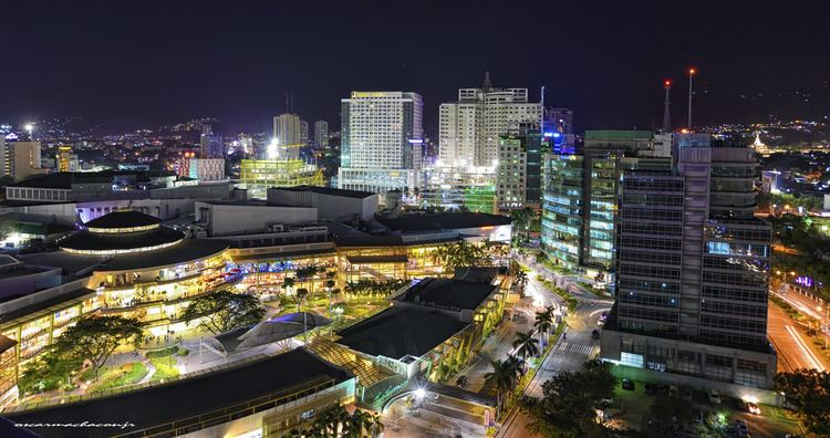 Cebu Business Park Cebu Business Park Cebu City at night oscarmachaconjr Flickr