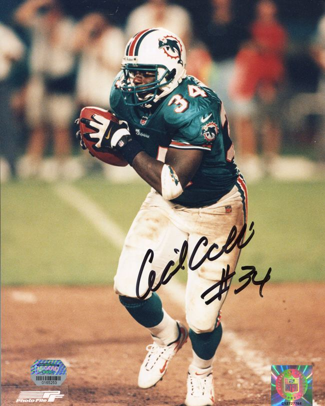 Cecil Collins (American football) Cecil Collins Autographed Miami Dolphins 8x10 Photo