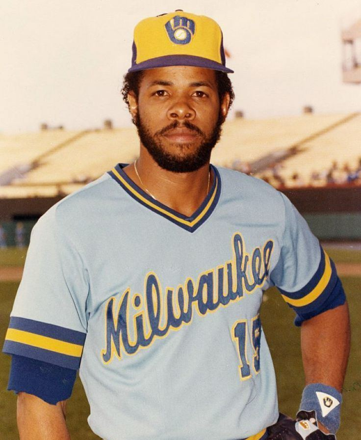 Cecil Cooper Cecil Cooper Milwaukee Brewers Brewers Baseball