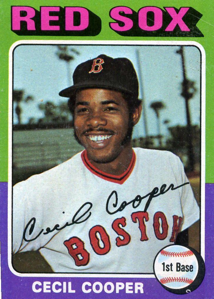 Cecil Cooper Baseball Historian Baseball Trades Trading Times