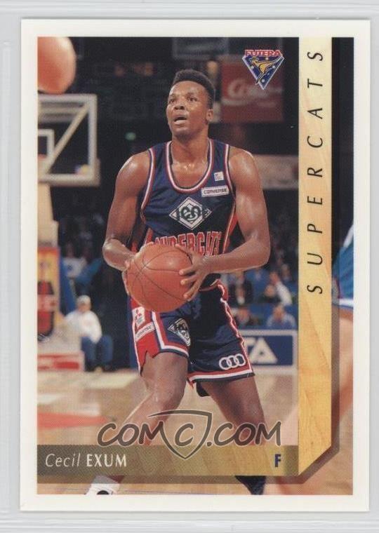 Cecil Exum Cecil Exum Basketball Cards COMC Card Marketplace