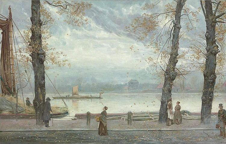 Cecil Gordon Lawson Cecil Lawson Works on Sale at Auction Biography