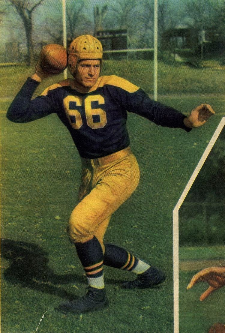 Cecil Isbell The Wearing Of the Green and Gold Cecil Isbell True Blue in 1940