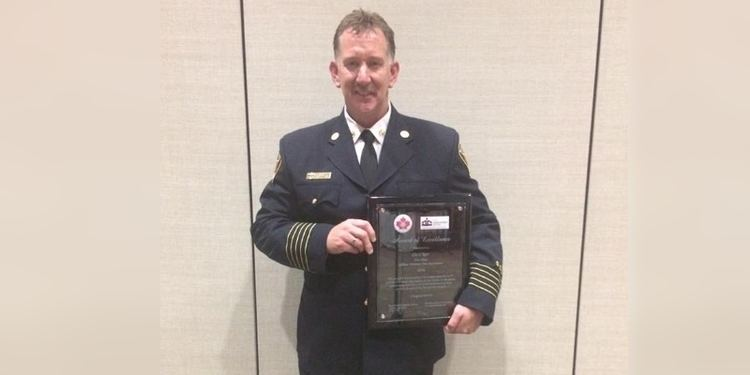 Cecil Kerr VOCM Cecil Kerr Named Volunteer Fire Chief of the Year