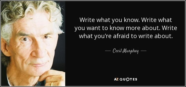 Cecil Murphy QUOTES BY CECIL MURPHEY AZ Quotes
