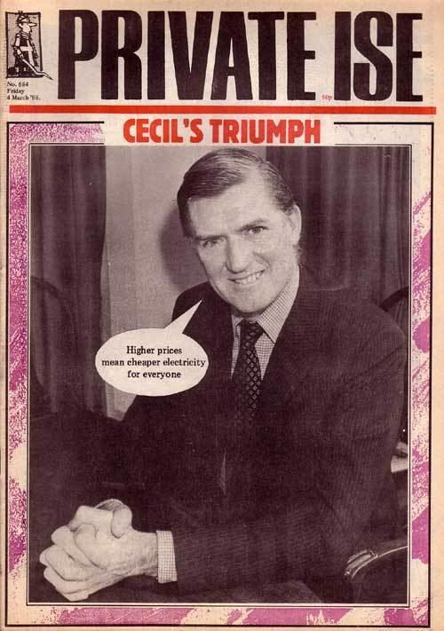 Cecil Parkinson Private Eye Official Site the UK39s number one best