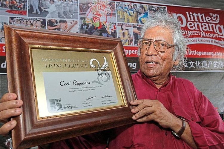Cecil Rajendra Cecil Rajendra and his fight for human rights honoured Star2com