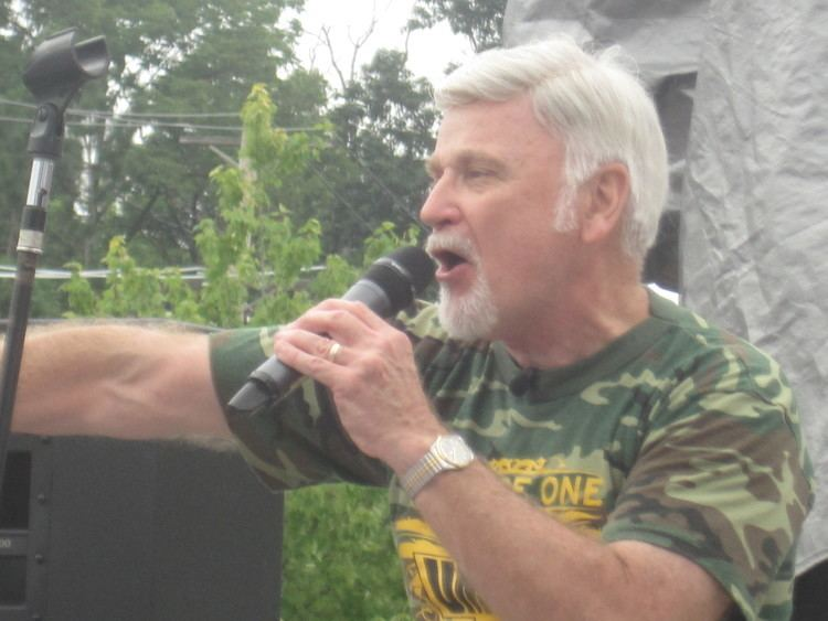 Cecil Roberts Union Miners Stage Mass Demonstration in Creve Coeur CBS