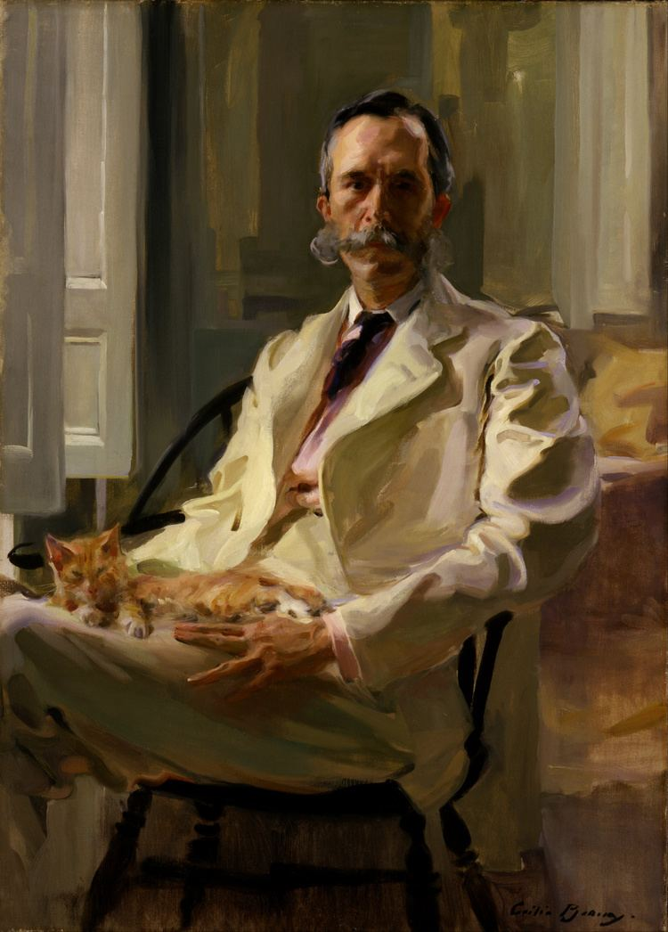 Cecilia Beaux FileCecilia Beaux Man with the Cat Henry Sturgis