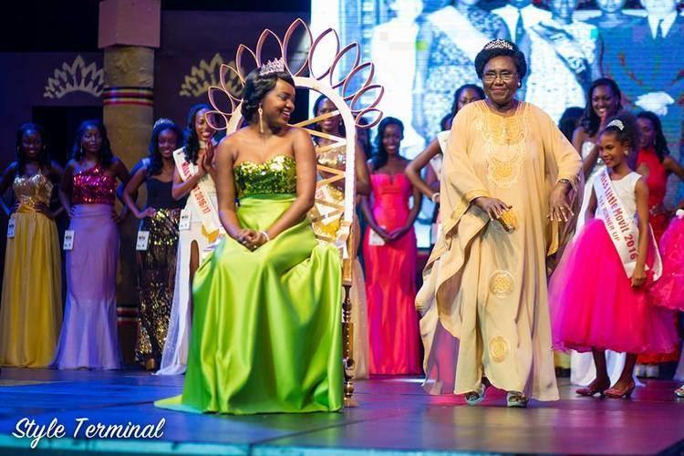 Cecilia Ogwal Former Miss Uganda and MP Cecilia Ogwal congratulates current Queen