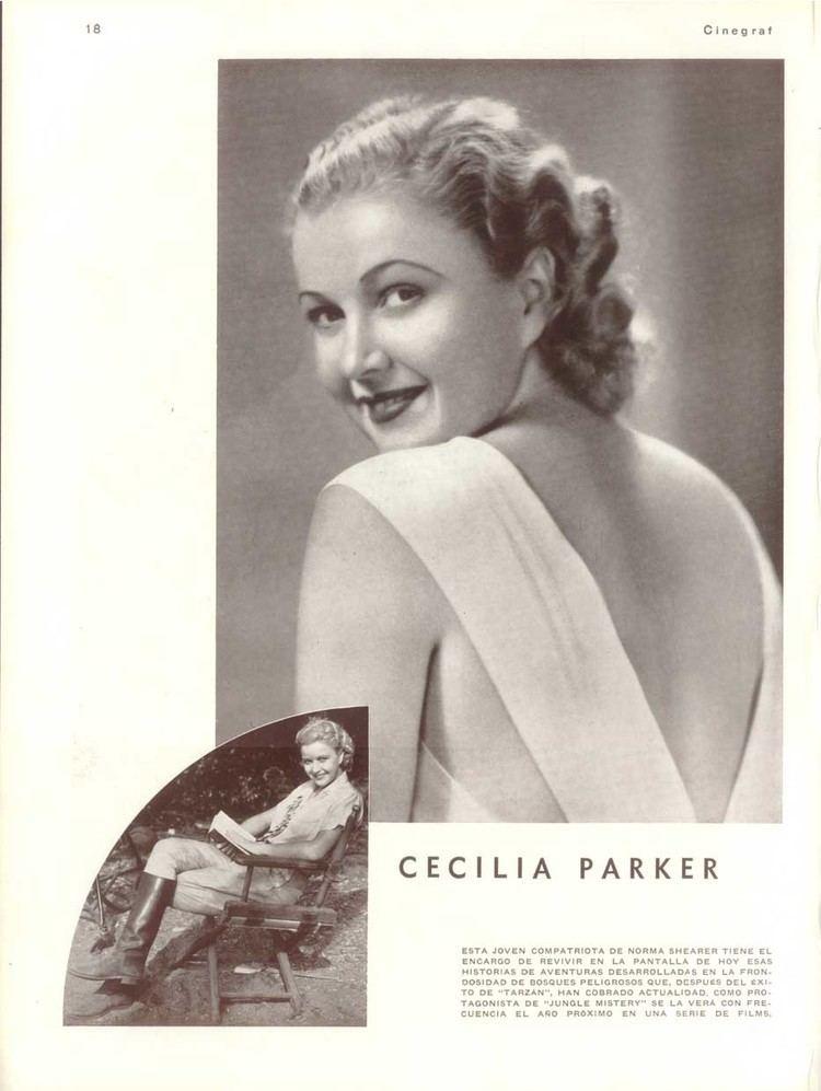 Cecilia Parker FileCecilia Parker Argentinean Magazine ADjpg