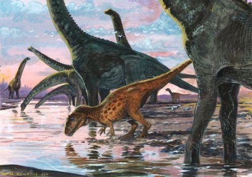 Cedarosaurus cedarosaurus DeviantArt