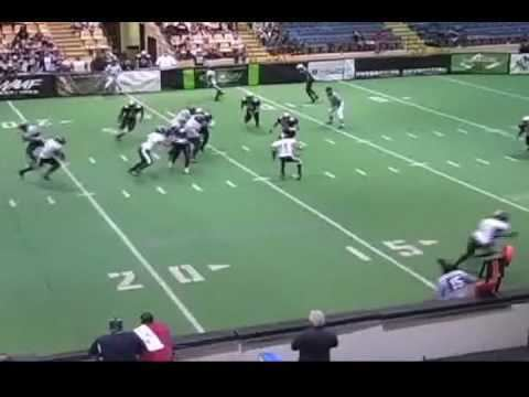 Cedeno Patrick Cedeno Patrick highlight tape sample Arena Football Corner Back