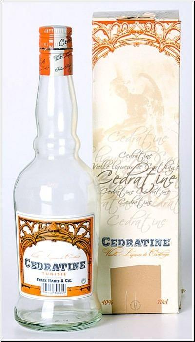 Cedratine Lehmann amp Co Likr Tunesien Cedratine Liqueur aus Tunesien