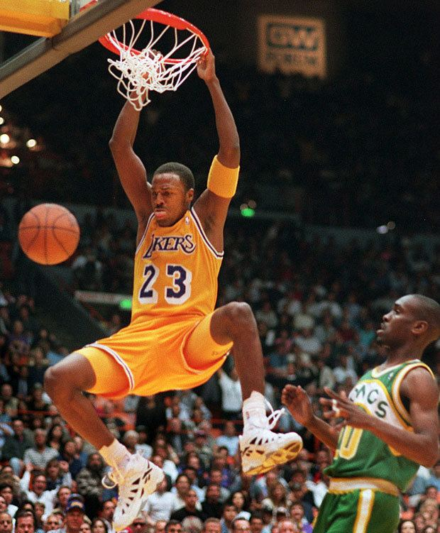 Cedric Ceballos 1994 Lakers39 Cedric Ceballos scores 50 points vs TWolves