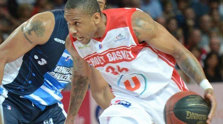 Cedrick Banks Basketball Pro A le Choletais Cedrick Banks de retour