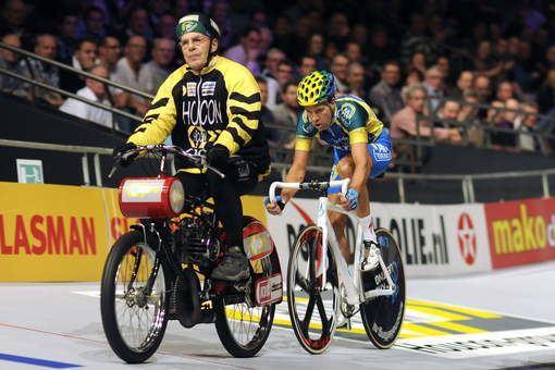 Cees Stam Zwaar ongeluk met Cees Stam bij Amsterdamse zesdaagse ADnl