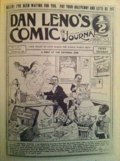 Celebrity comics