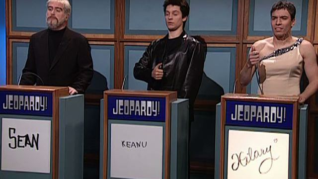Celebrity Jeopardy Saturday Night Live Watch Sean Connery Sketches From Snl Played By