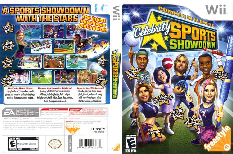 Celebrity Sports Showdown REAE69 Celebrity Sports Showdown