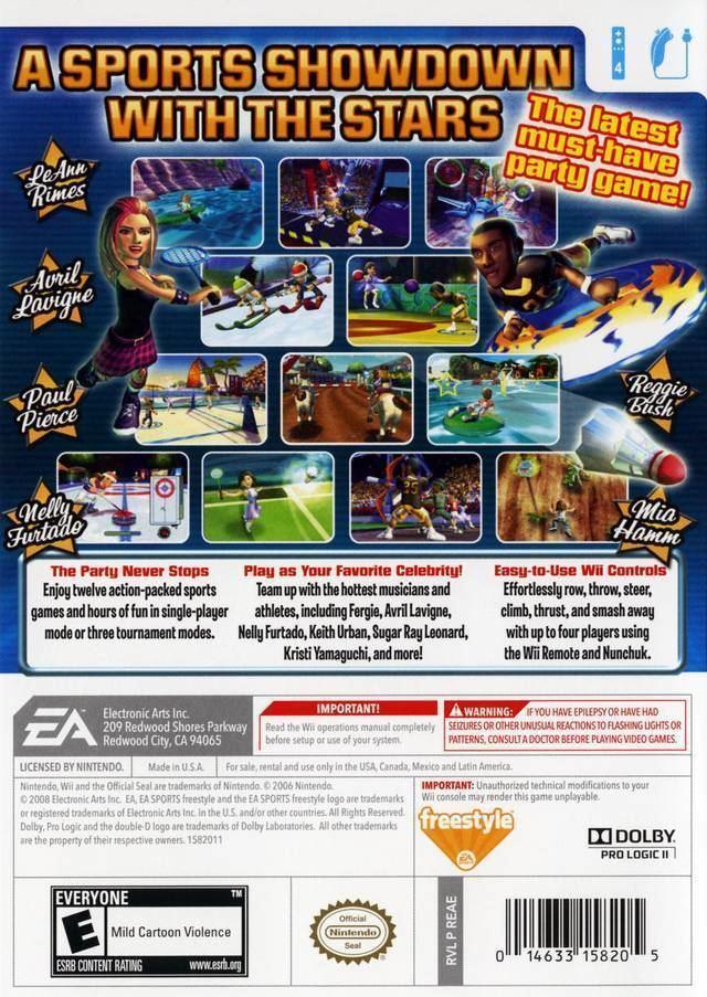 Celebrity Sports Showdown Celebrity Sports Showdown Box Shot for Wii GameFAQs
