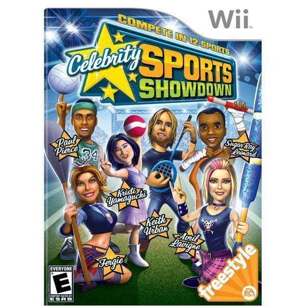 Celebrity Sports Showdown Wii Gamers Celebrity Sports Showdown Review
