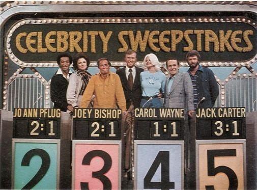 Celebrity Sweepstakes CTVA US Daytime Game Show quotCelebrity Sweepstakesquot Ralph Andrews
