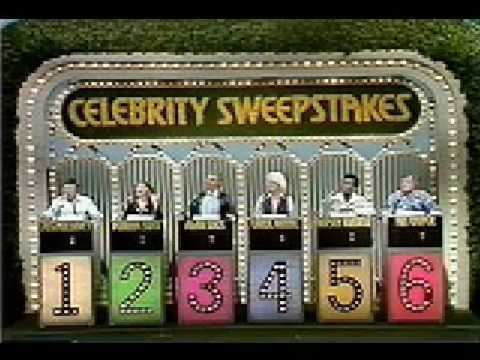 Celebrity Sweepstakes Stereo theme of Celebrity Sweepstakes YouTube