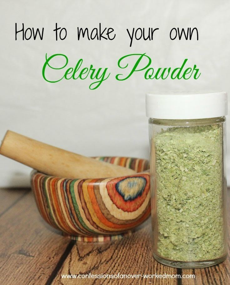 Celery powder httpsconfessionsofanoverworkedmomcomwpconte