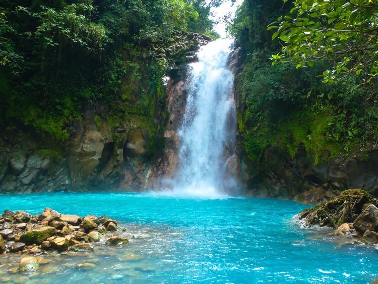 Celeste River 7 Natural Wonders in Costa Rica Rio Celeste Celeste River The