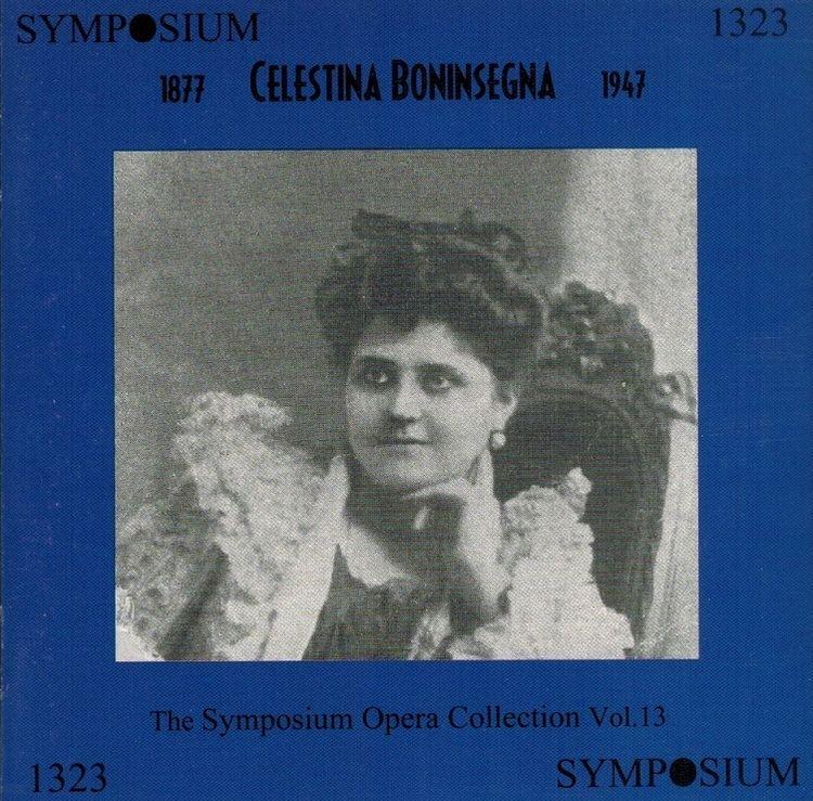 Celestina Boninsegna Boninsegna Symposium 1323