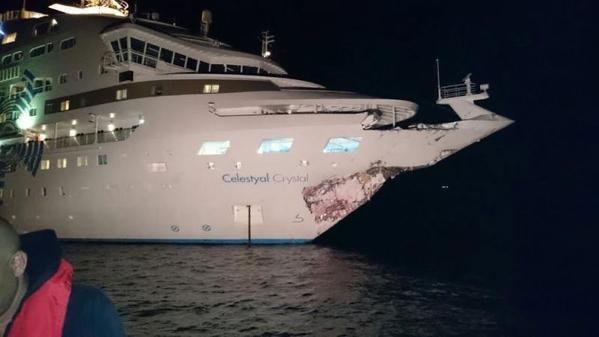 Celestyal Crystal CELESTYAL CRYSTAL in Collision in the Dardanelles Maritime Matters